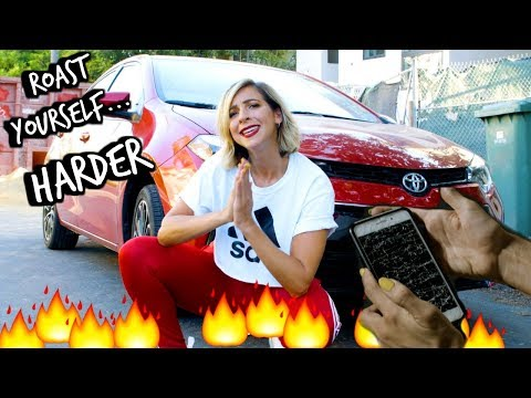 ROAST YOURSELF HARDER CHALLENGE! (DISS TRACK!!!11!1)