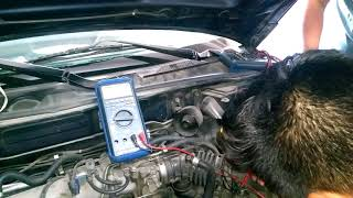 Nissan QG 15 prueba del sensor Maf