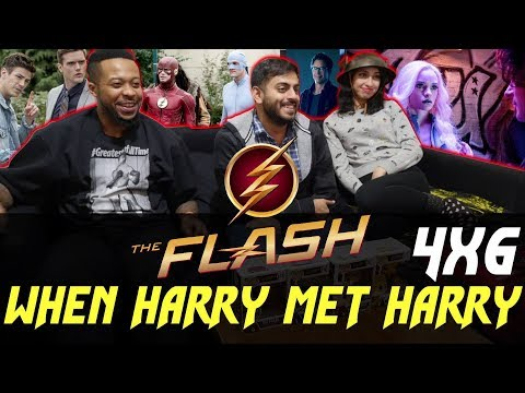 The Flash - 4x6 When Harry met Harry... - Group Reaction