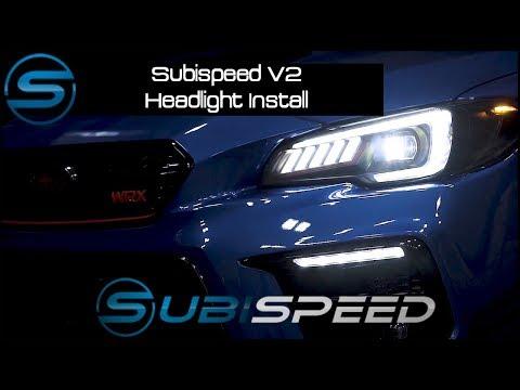 Subispeed V2 Headlight Install Guide