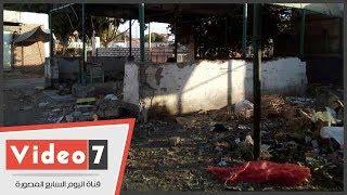 سوق البساتين القديم بمدينة الخارجة يتحول إلى بؤرة عشوائية ومقلب للقمامة
