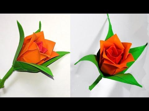 Origami Kusudama Flower - YouTube | 360x480