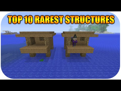 ★Top 10 Rarest Minecraft Natural Structures For Xbox And Playstation - Title Update 23 ★