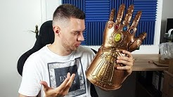 Der Gigantische legendäre Infinity Handschuh von Thanos und Fortnite Spielfiguren! - Unboxing