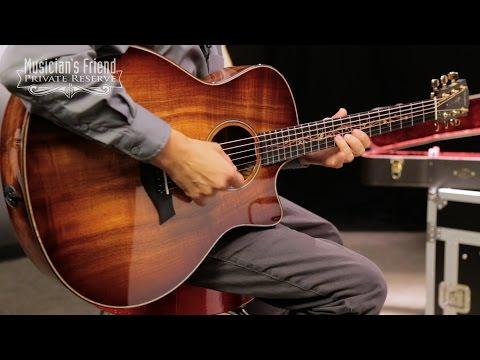 Taylor Koa Series K26ce Grand Symphony Acoustic-Electric Guitar, Shaded Edge Burst