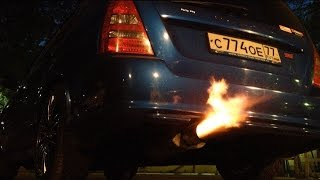 """звук выхлопа Magnaflow Subaru Forester STi """"С огоньком =)"""""""