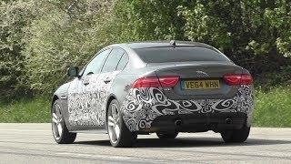Spyshot | Jaguar XE S (???) Testing at the Nurburgring | Walkaround + Startup + Driveby