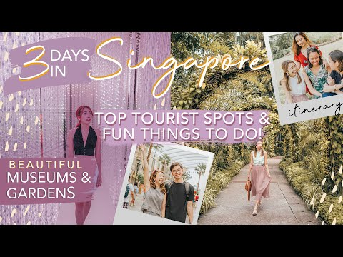 SINGAPORE in 3 DAYS (Itinerary!) | MUST-SEE GARDENS & MUSEUMS | Sophie Ramos