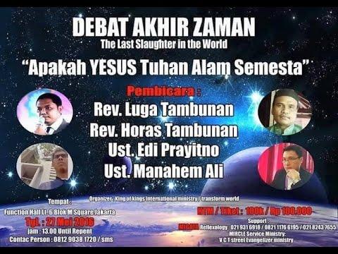Debat:  Apakah Yesus Tuhan Semesta Alam?