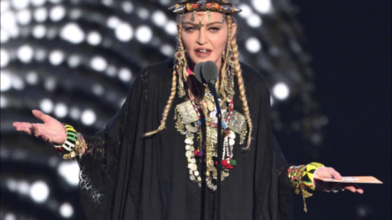 Madonna On VMA's Aretha Franklin Tribute: 'I Did Not Intend To Do A Tribute'