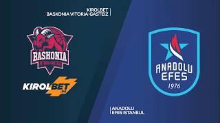 #EuroLeague 12. Hafta: KIROLBET Baskonia - Anadolu Efes
