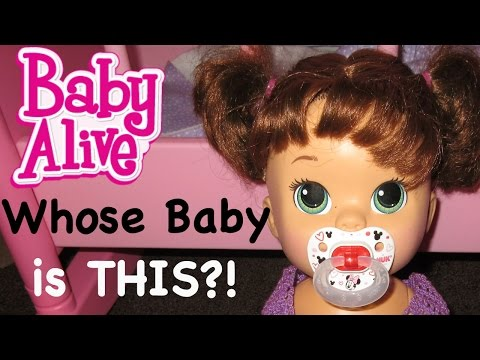BABY ALIVE Suprise Baby At My Doorstep + Baby Alive Name Reveal
