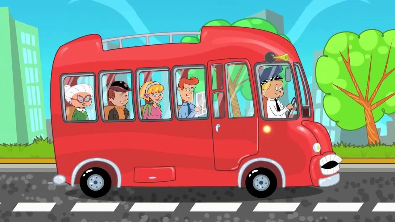 Autobuzul - Cantece pentru copii Paradisul vesel |rotile autobuzului cantece pentru copii