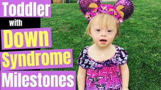Down Syndrome Growth & Development For A  2 Year Old Toddler Girl