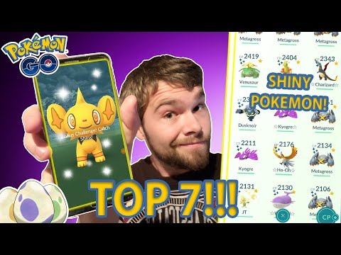 HOW TO GET A SHINY POKEMON IN POKEMON GO!!! (TOP 7 WAYS TO GET A SHINY)