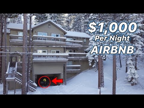 Engineers Stay For $1,000/Night On Ski Trip (Airbnb)