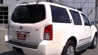 2008 Nissan Pathfinder LE 4WD V8 LEATHER SUNROOF DVD SUV  Call Now     1 (866) 980-4721