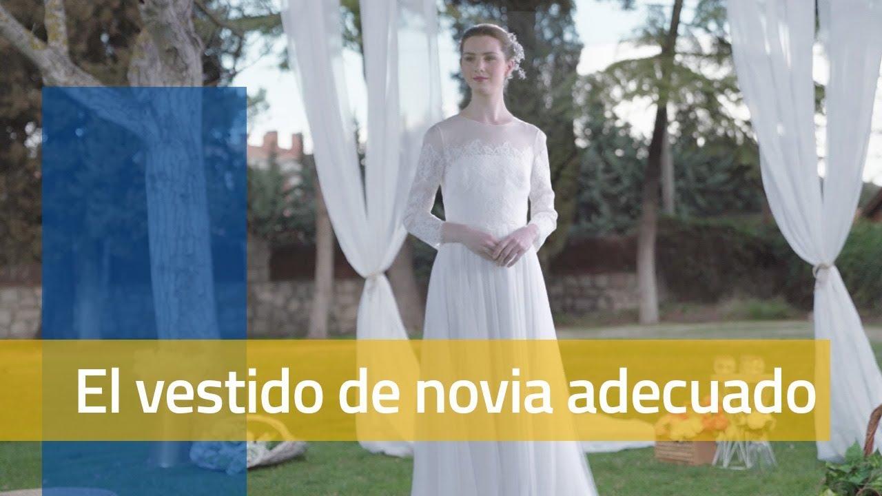 Vestido de novia para una boda en el campo o en la ciudad   Jorge ...