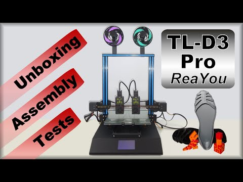 ReaYou IDEX TL-D3 Pro - Assembly, Tests & Review