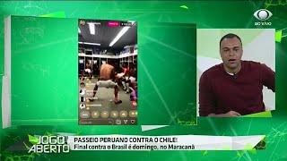 Denilson brinca com dancinha de Guerrero no vestiário