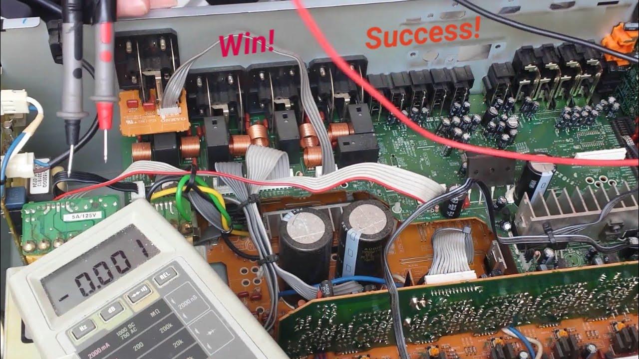 Onkyo Tx-sr605  U0026 39 Stuck In Standby U0026 39  Fix