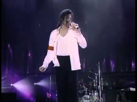 Michael Jackson Man in the mirror Dangerous Tour ( Best performance) with lyrics