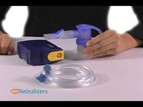Just Nebulizers; PARI TREK S Compact Compressor Combination Pack