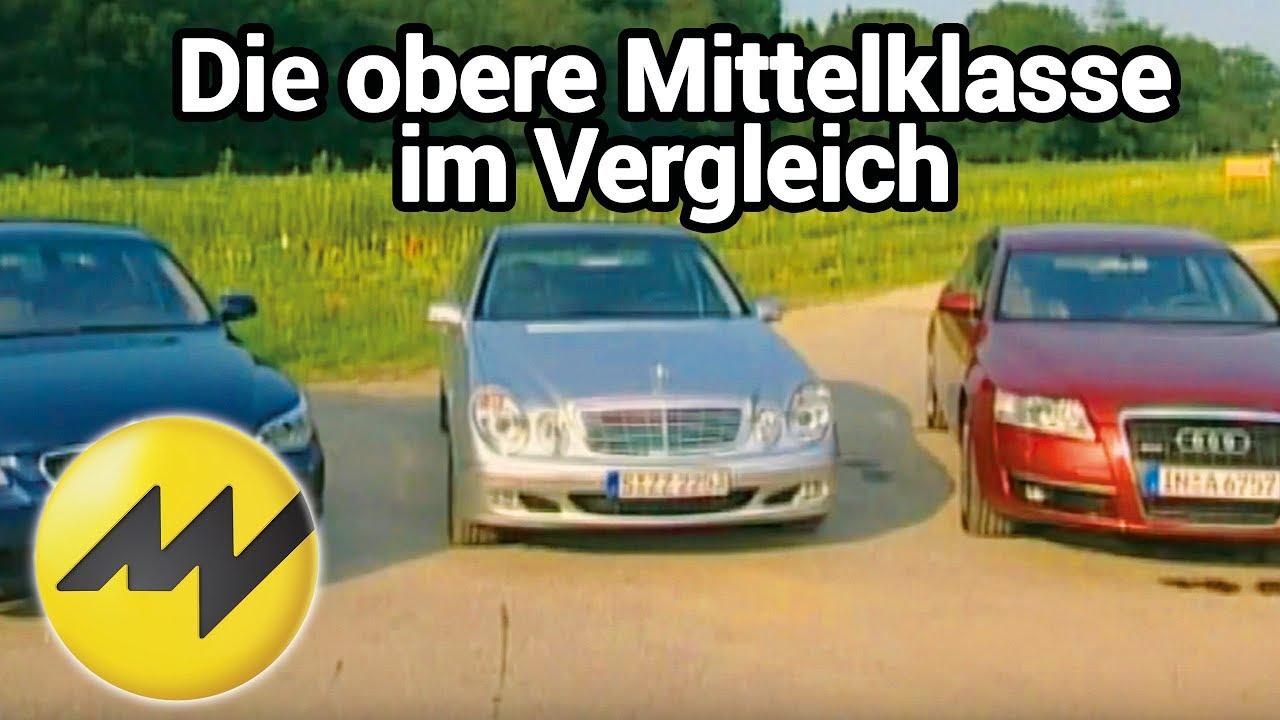 Audi A6 30 Tdi Vs Mercedes E 320 Cdi Vs Bmw 530d Die Obere