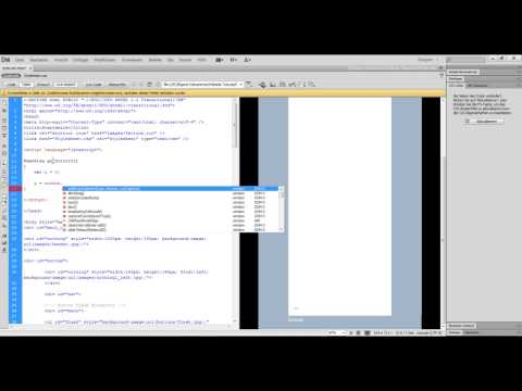 HTML/Javascript Tutorial - Scrollfunktion