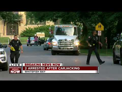 2 Arrested In Whitefish Bay After Milwaukee Carjacking, Chase