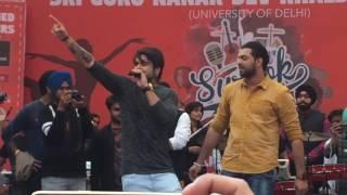 Ninja live at Khalsa college Delhi
