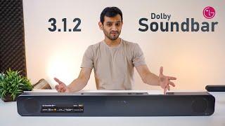 LG Premium Soundbar Review with Dolby Atmos (SN8YG)