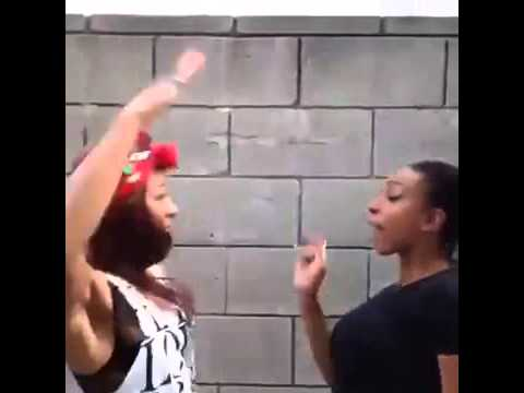 Street fighting videos - Funny girl cute fight ( Fighter ...