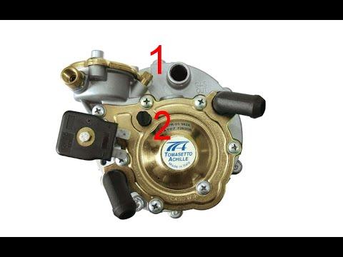 Замена газового фильтра и слив конденсата с редуктора Tomasetto .