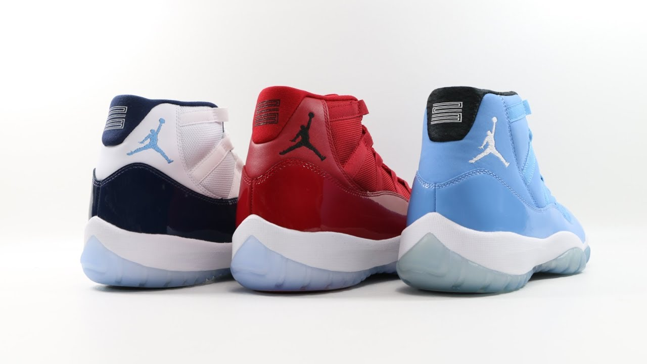 The Air Jordan 11 XI Retro Win Like 96 + Review & Comparison | @mjo23dan