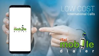 iTel Mobile Dialer Express, enabling VoIP Calls, SMS, Mobile Top Up and more. screenshot 1
