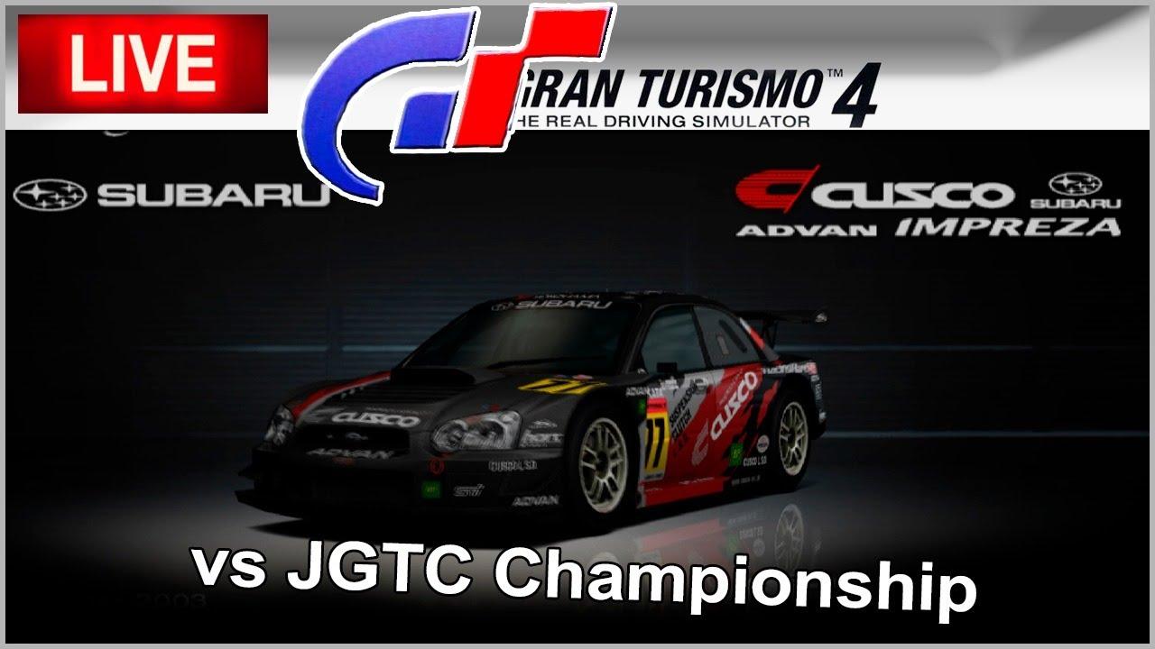SUBARU IMPREZA WRX STi CUSCO GT300 vs JGTC - Gran Turismo ...