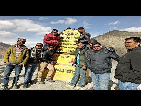 Feeling awesome at Khardungla Pass | Ladakh Himalayan Road Trip | Leh to Nubra