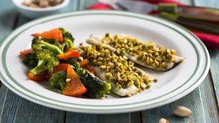 Запеченная рыба рецепты с фото.Рыба с брокколи и перцем