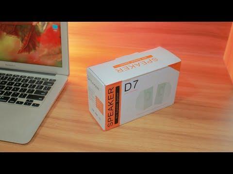 MY D7 SPEAKER UNBOXING 🔥 Best Cheap Speaker For Computer/Smartphone !!