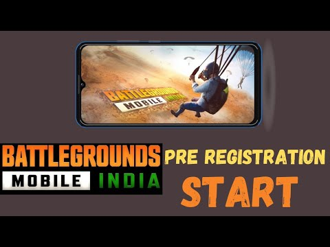 Battleground mobile india pre-registeration || Battleground mobile india official trailor