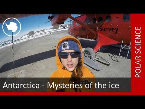 British Antarctic Survey public talk  'Antarctica - Mysteries of the ice'