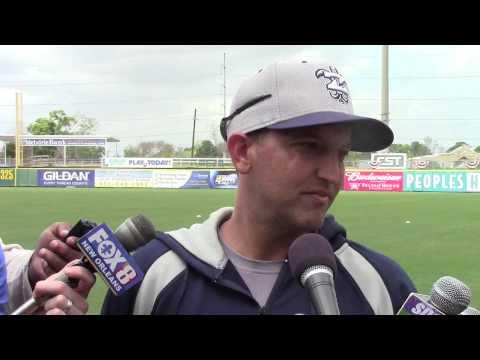 2014 Zephyrs Media Day: Manager Andy Haines