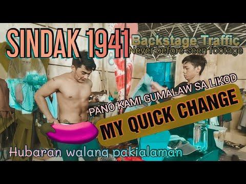 SINDAK 1941 EXCLUSIVE VIDEO | ACTORS BACKSTAGE TRAFFIC (MY QUICK CHANGE)