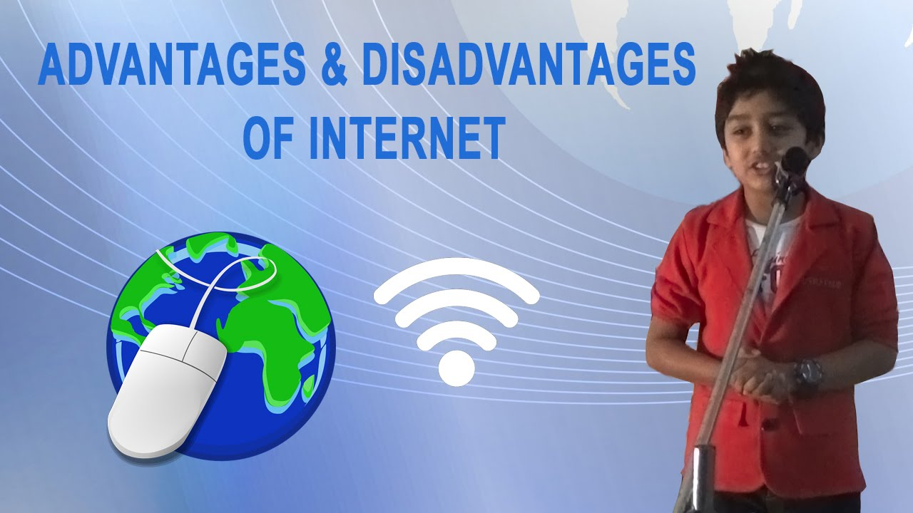 benefits and disadvantages for internet use The internet offers several advantages such as access to information, communication, e-commerce, entertainment and global socialization in addition, the internet has.