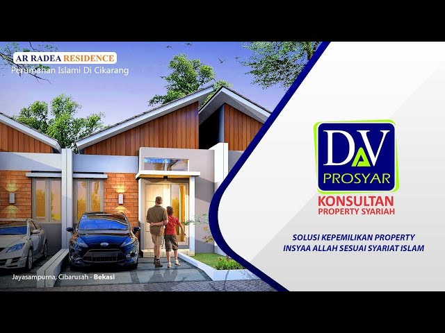 Rumah Syariah di cikarang, hanya 2KM dari MM 2100