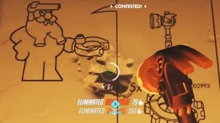 Overwatch Funny Moments 37 - Torbjorn Shows Us How To Get POTG