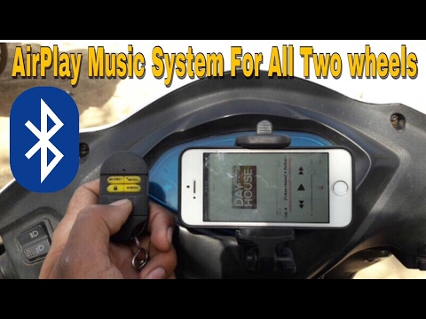 How To Make AirPlay Music System For All Scooters || Must Watch