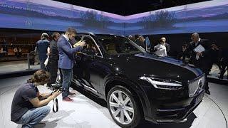 Paris Motor Show: Volvo Unveils New XC90