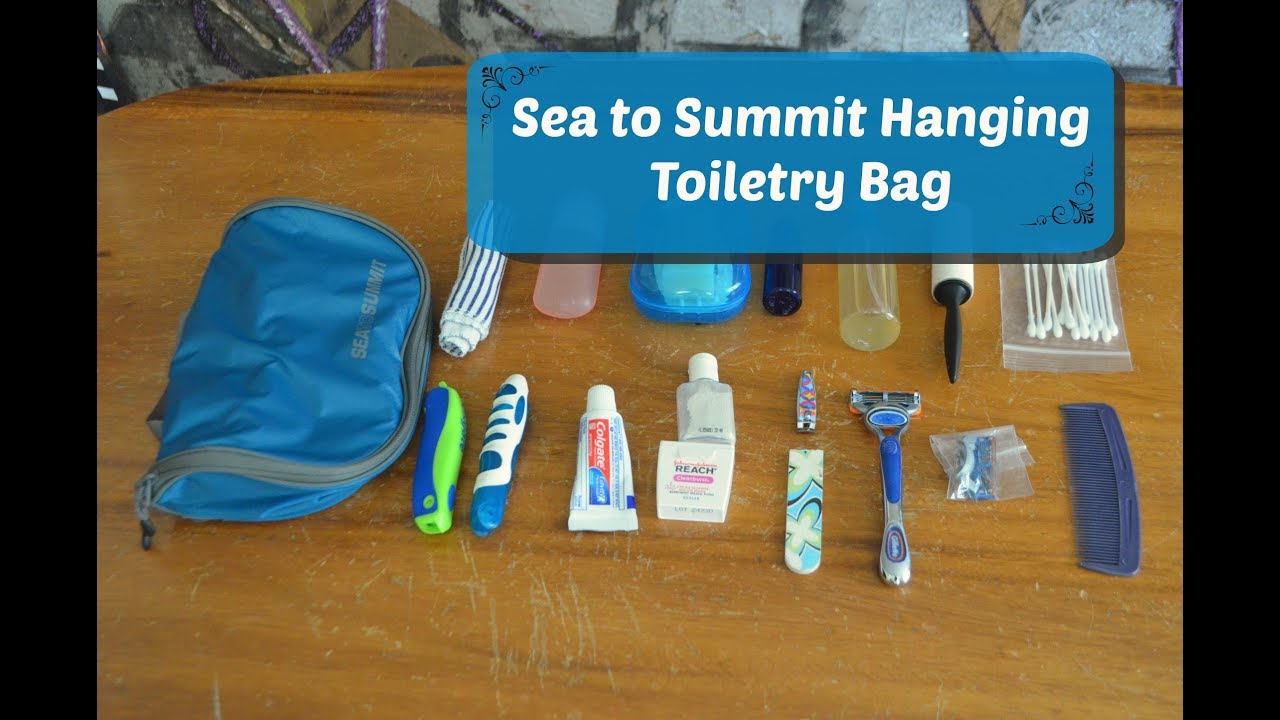 bdd284feed44 What's In My Sea to Summit Toiletry Bag + Review